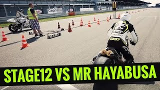 Scooter-Attack presents | Roller gegen Motorrad | Stage12 Sprinter vs Mr Hayabusa