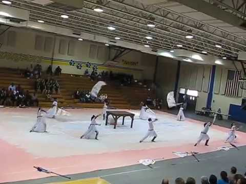 Edisto high school royal essence winter guard 2014