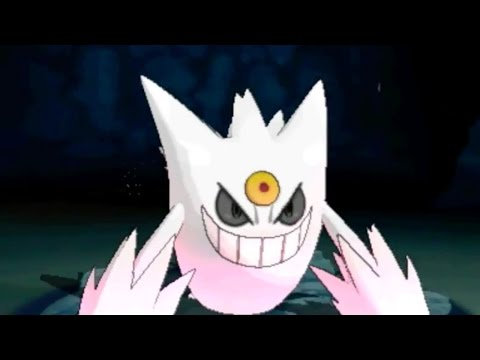 Pokemon X and Pokemon Y - Shiny Gengar Trailer