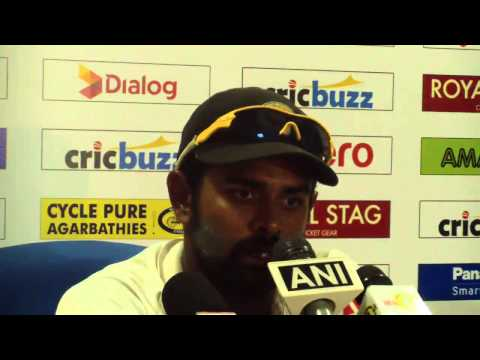 2nd Test, Day Three Post Match Press Conference - India in Sri Lanka 2015