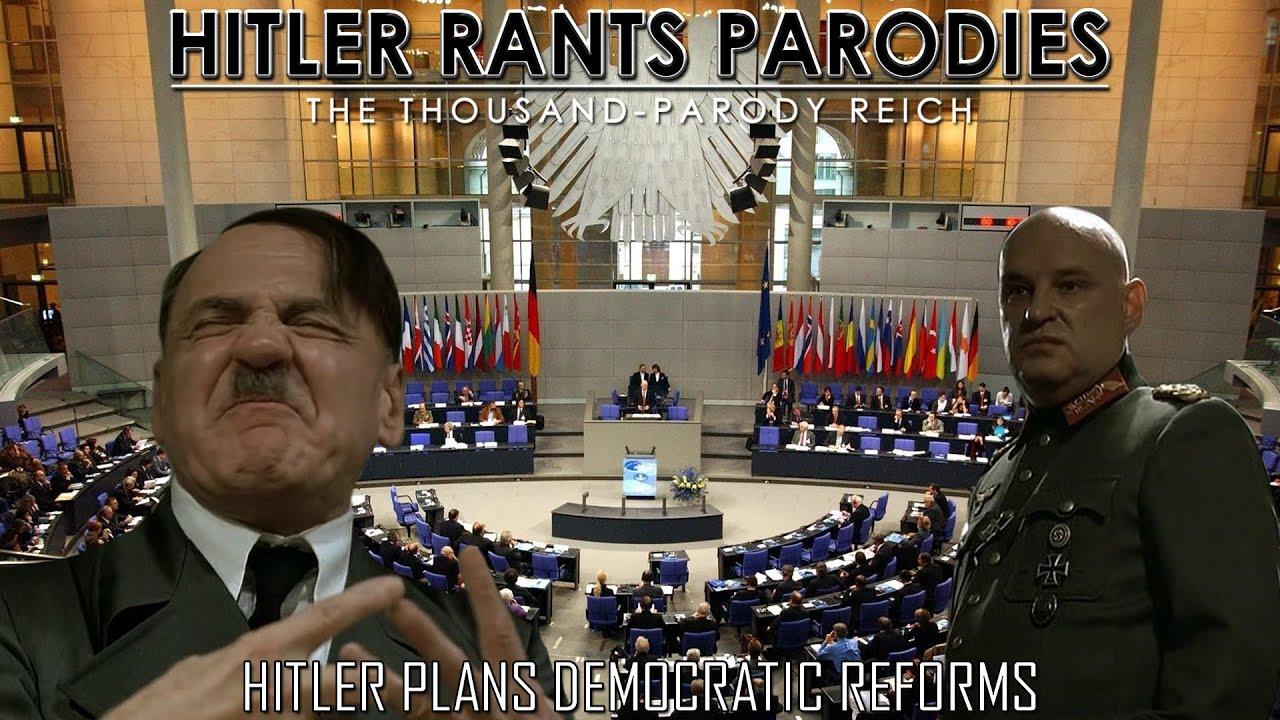Hitler plans democratic reforms