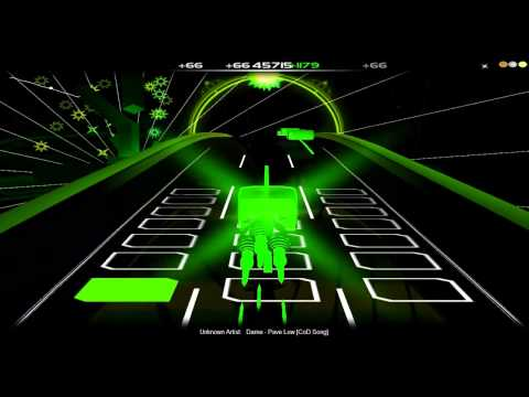 Let´s play Audiosurf#4 - Dame Pave Low CoD Song (German) [HD]