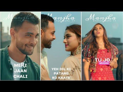 Manjha : Full Screen Status  | Aayush Sharma & Saiee Manjrekar | Vishal Mishra | Status Guru YT
