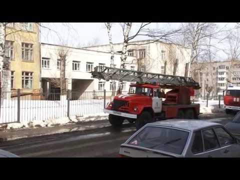 В кировской школе №18 тушили пожар