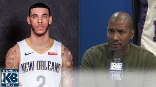 Raja Bell: Lonzo Ball's new shot will be better than Simmons, Fultz | Kanell & Bell