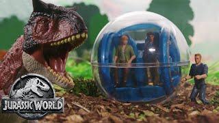 The Dinosaur Escape Part 1 (Sweded) | Jurassic World: Fallen Kingdom | Mattel Action!