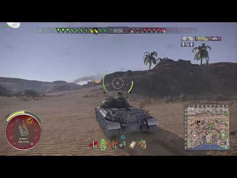 World of Tanks Xbox one Alpine Tiger WZ-111 4 Kills