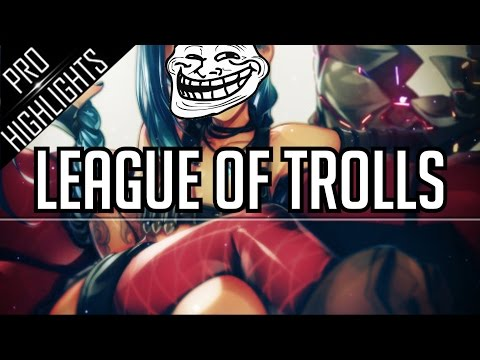 League of Trolls | LCS Troll/Funny Moments