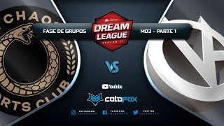 [PT-BR] Chaos Esports Club vs Vici Gaming - DreamLeague 11 - Dota 2 Major