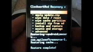 como restaurar room original 2.3.6 galaxy y gt s360b.AVI