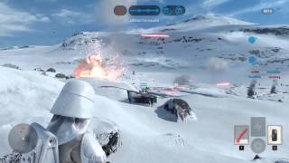 Star Wars Battlefront - Amazing Midair Snipe