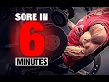 Bicep Workout (SORE IN 6 MINUTES!)