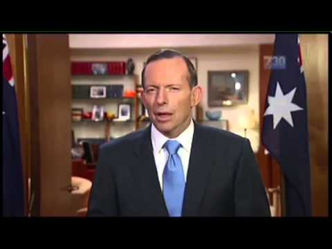 Tony Abbott - 1 Minute Summary Of Abbott's First Year