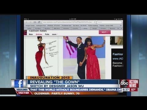 Michelle Obama wears Wu again