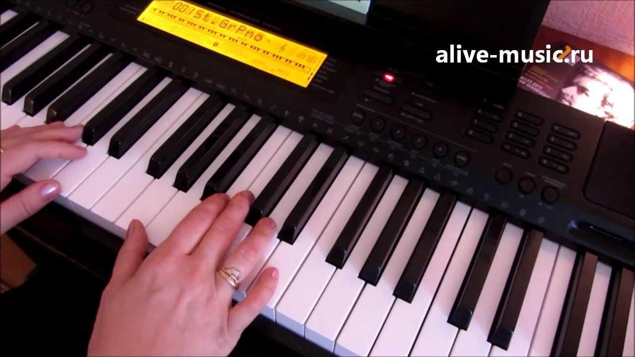 Урок фортепиано на хоровом отделении - 638