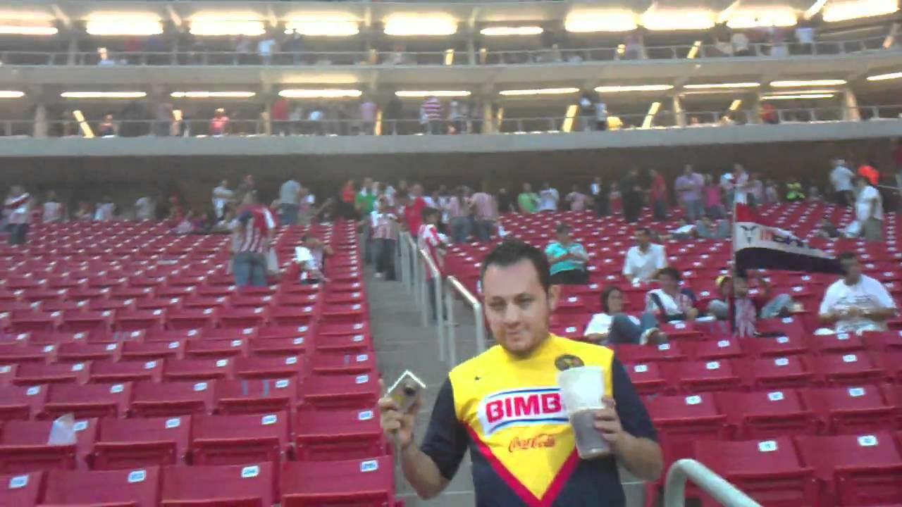 Estadio Omnilife Vacio Estadio Vacio