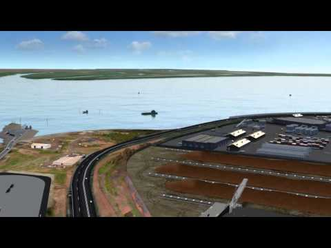 The potential for future expansion at Darwin Port