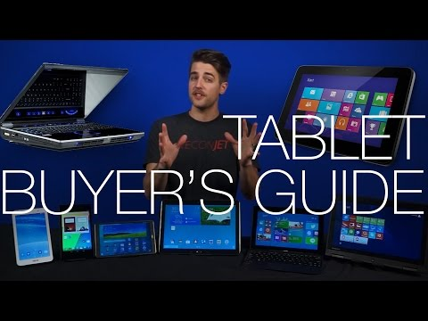 Back to School Tablet Buyer's Guide 2014