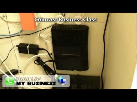 Comcast Business Class Phone Internet Equipment Tour