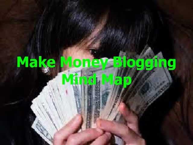 Make Money Blogging Mind Map   Make Money Bloggin For Dummies