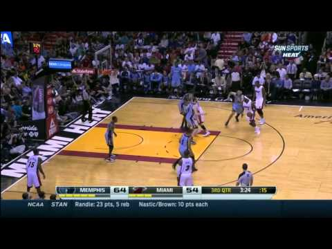 Chris Bosh Pick-and-Pop