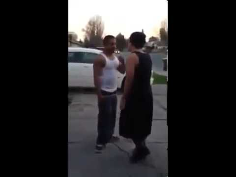 Boy Fights To Protect His Mom video