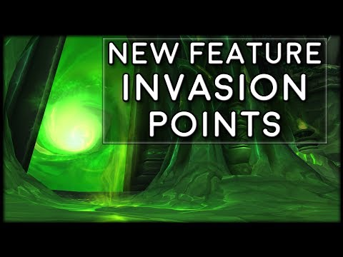Exploring New Worlds With Invasion Points! New 7.3 Feature! | World of Warcraft Legion