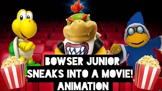 SML Movie: Bowser Junior Sneaks Into A Movie! Animation