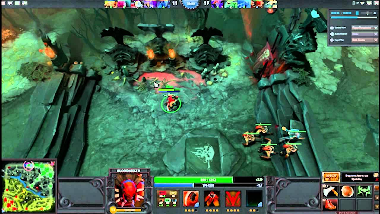 The Gallery For Gt Dota Hero Bloodseeker Item Build