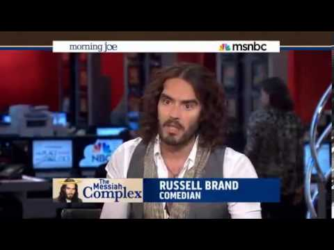 MSNBC Gets Owned by Russell Brand! MUST WATCH 2013