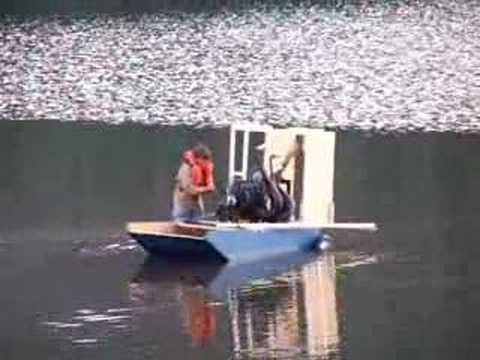 Home grown airboat