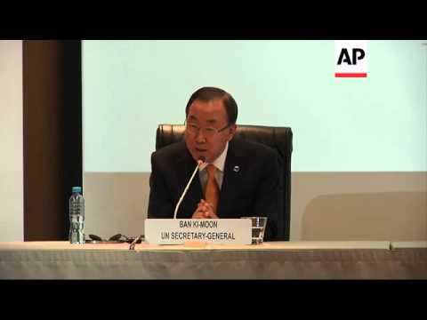 UN Secretary General to attend the 15th UN conference for industrial development