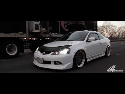 Jeffs Stanced RSX With BBS LM Wheels | VIDEO