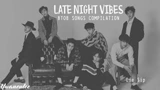Download Lagu Late Night Vibes - BTOB Songs Compilation | 밤에 듣기 좋은 비투비 노래모음 Gratis STAFABAND