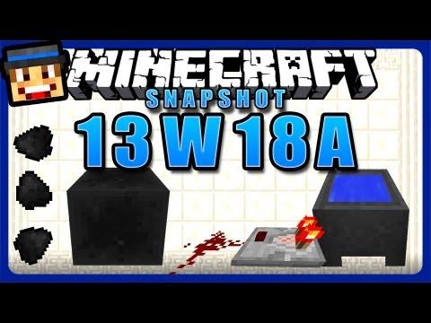 Minecraft Snapshot 13w18a/b - Kohleblöcke, Mobhaustiere & mehr Comparator -Funktionen