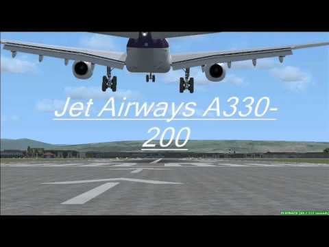 Mumbai Airport Arrivals (Plane Spotting) FSX.