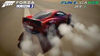 Forza Horizon 3 - Fun & Games Pt. 1