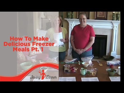 how to make a delicious meal