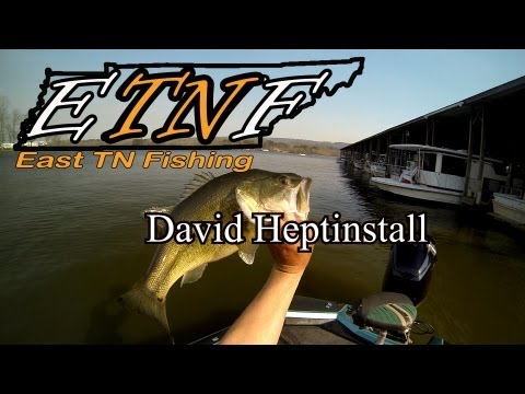 David Heptinstall and EastTNFishing - Lake Guntersville raw footage March 2013