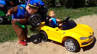 Funny Videos #1   Funny Childs With They Small Car
