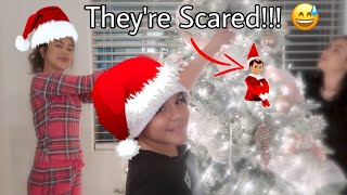 Christmas Decorating With Crazy Kids! Vlogmas Day 2 + Giveaway