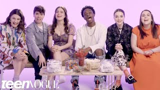 "The Cast of ""Booksmart"" Plays I Dare You 
