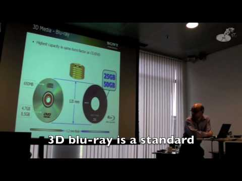 Sony 3D Experience part 3:  3D PlayStation & blu-ray