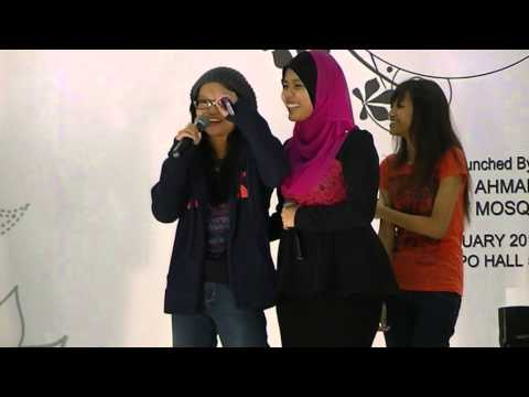 Najwa Latif  Singapore Expo Hall 5[11 1 13]~singing Competition[grils] video