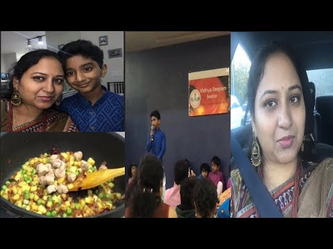 #Diml #vlog Monday lunch box recipe #sunday Dhandiya Event