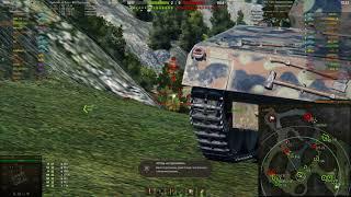 Классный Шведский ст Strv 74 на карте Перевал