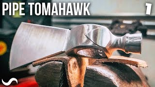 MAKING A PIPE TOMAHAWK!!!