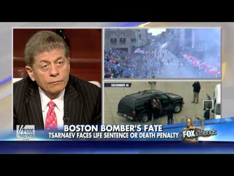 Judge Napolitano: Dzhokhar Tsarnaev Will Not Get The Death Penalty Without Jury Trial