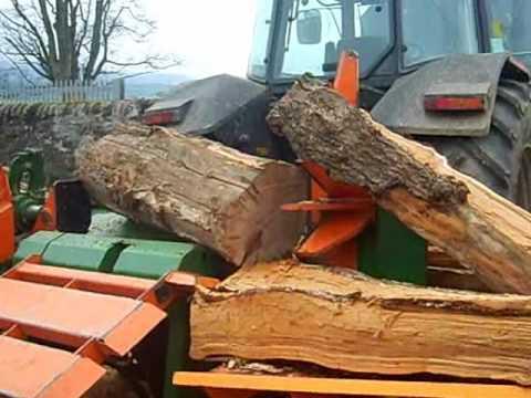 posch splitmaster 30t. logsplitter
