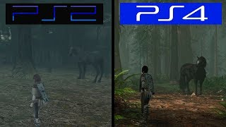 Shadow of The Colossus REMAKE | Gameplay Comparison | PS4 VS PS2